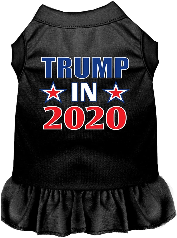 Mirage Pet Product Trump in 2020 Screen Print Dog Dress Black 4X