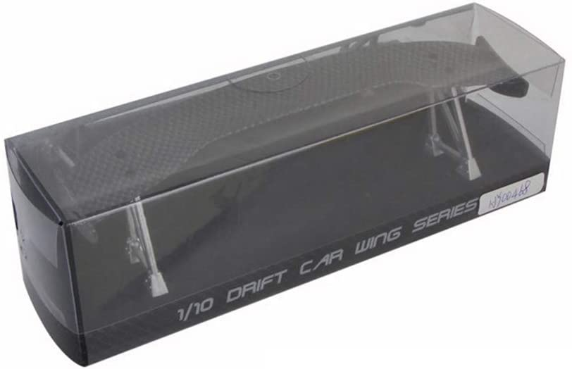 Parts & Accessories Tail Wing Rear Spoiler for 1/10 RC Drift Car On-Road Racing Car Upgrade Part Carbon Fibre