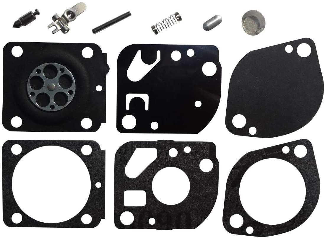 Carburetor Repair/Rebuild Kit Replaces ZAMA RB-166 for Stihl BR500 BR550 BR600 Blower ZAMA C1Q-S99 C1Q-S100 C1Q-S101