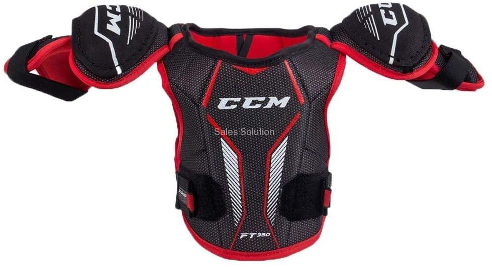 CCM JetSpeed FT350 Hockey Shoulder Pads (YTH M)