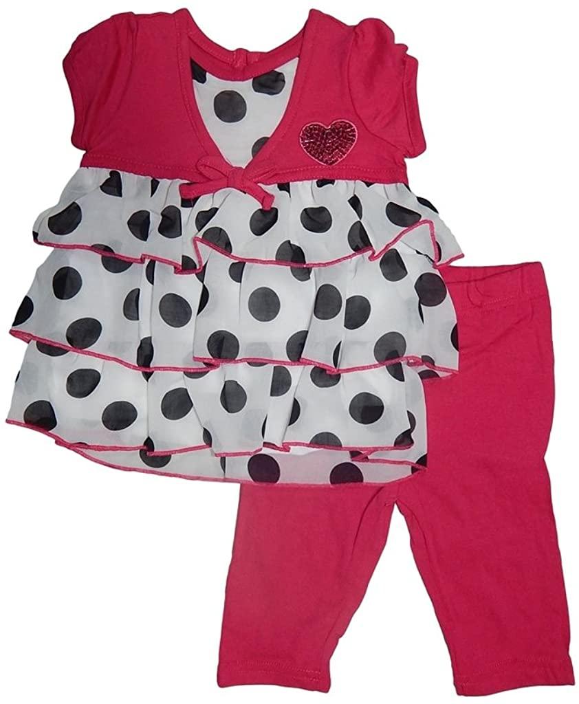 Buster Brown Baby Girls Polka Dot Tunic Top and Leggings