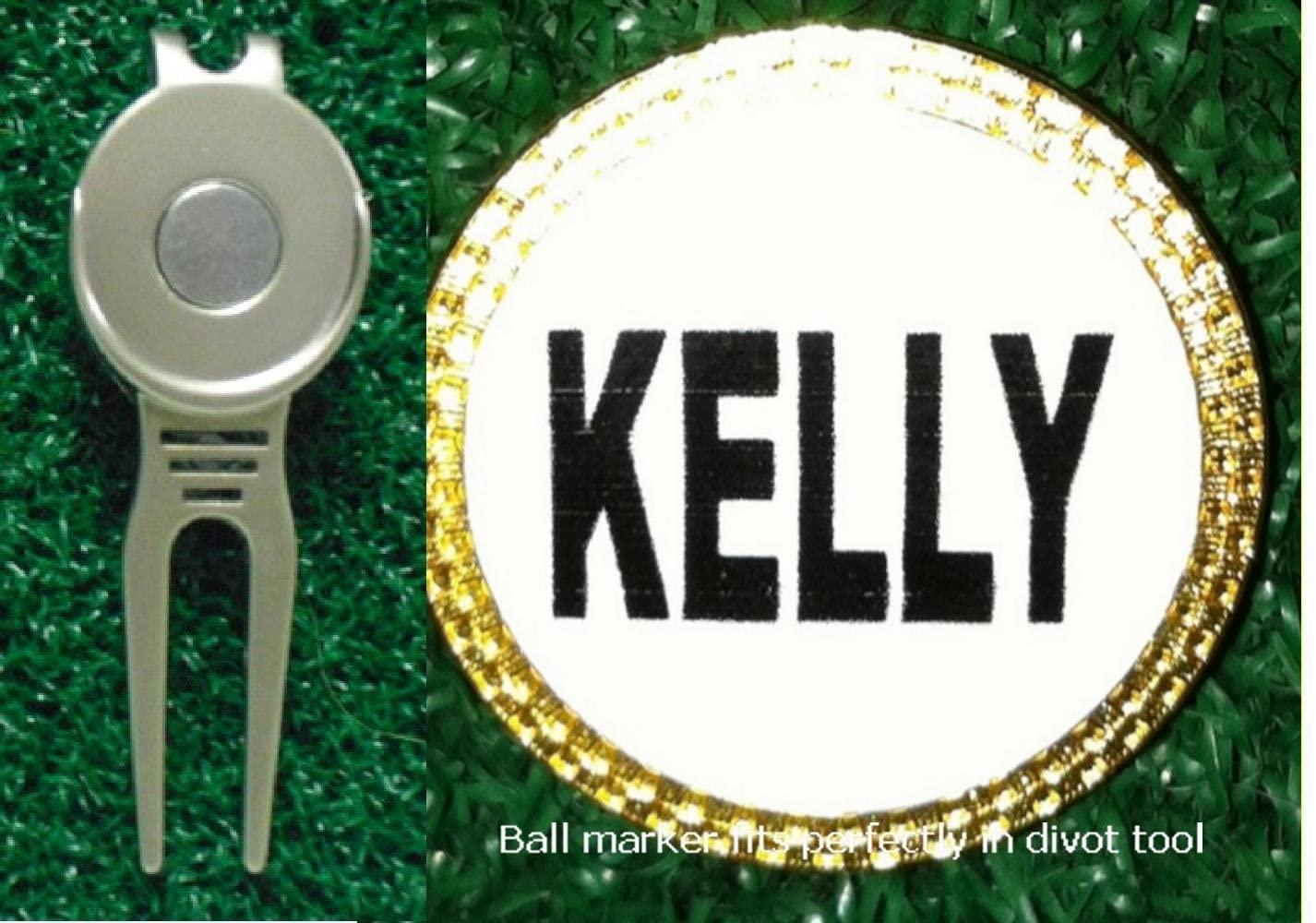 Gatormade Personalized Golf Ball Marker & Divot Tool Kelly