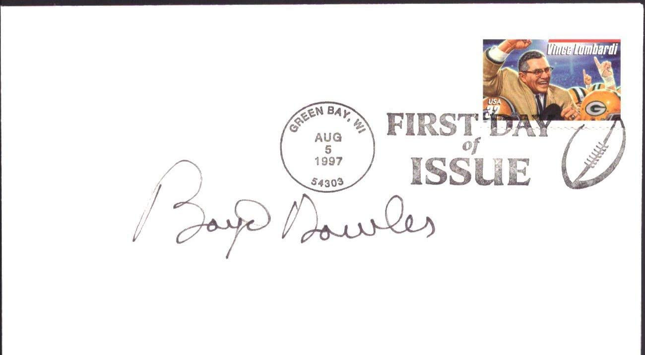 Boyd Dowler Signed 1997 FDC First Day Cover Green Bay Packers 151466