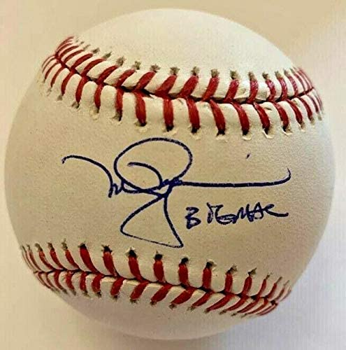 Mark McGwire Signed Baseball - Athletics Big Mac Hologram - Autographed Baseballs