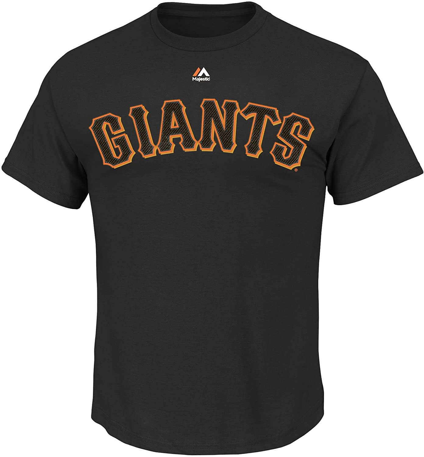 Majestic Buster Posey San Francisco Giants Black Youth Jersey Name and Number T-Shirt