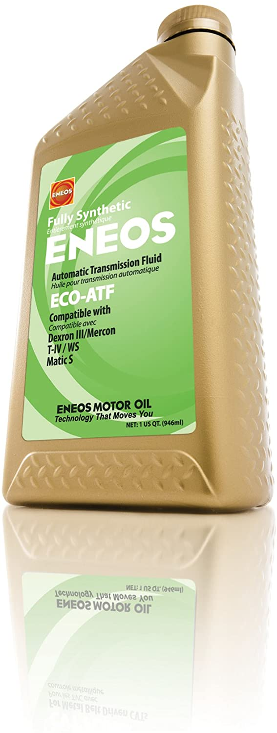 Eneos (3103300 ECO-ATF Fully Synthetic Automatic Transmission Fluid - 1 Quart