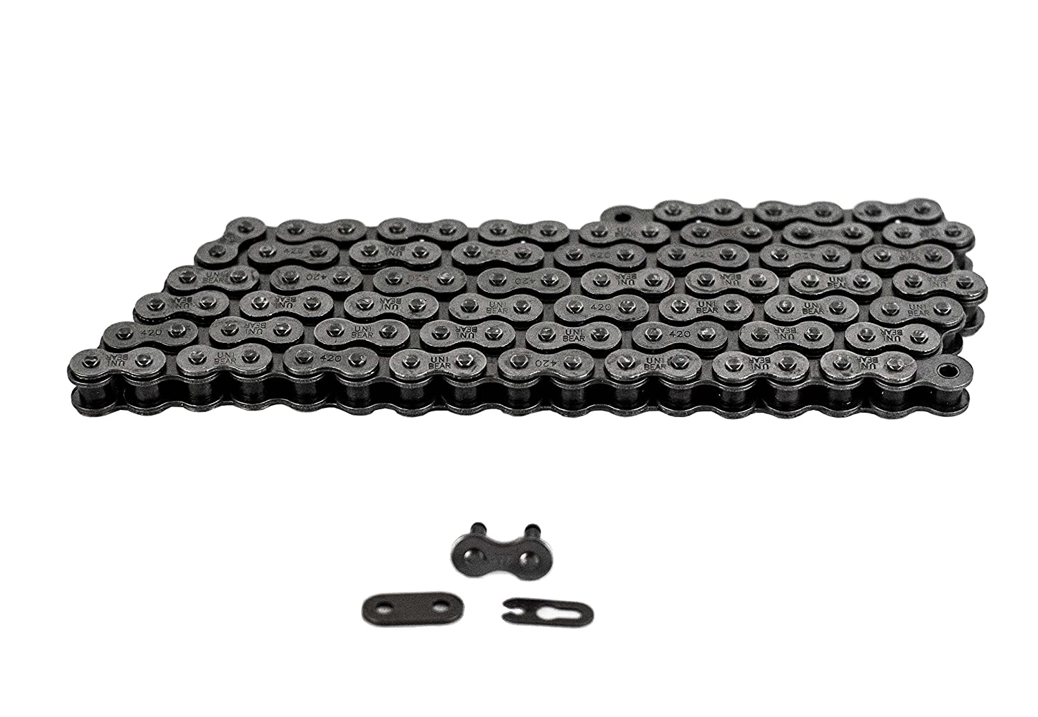 420 Motorcycle Chain 10 Feet with 1 Connecting Link