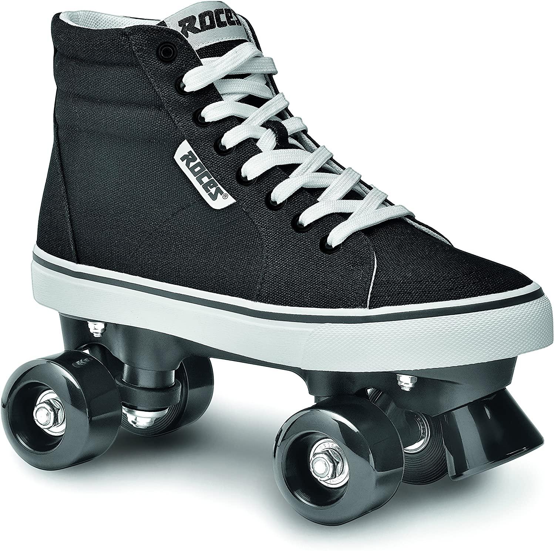 Roces 550030 Model Chuck Roller Skate,Black/White,10USW,8USM,41EU,7UK