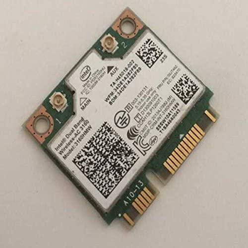 Lenovo Wireless N LAN Intel Dual Band 3160hmw Ac FRU 00jt462 Half Mini Pcie Card