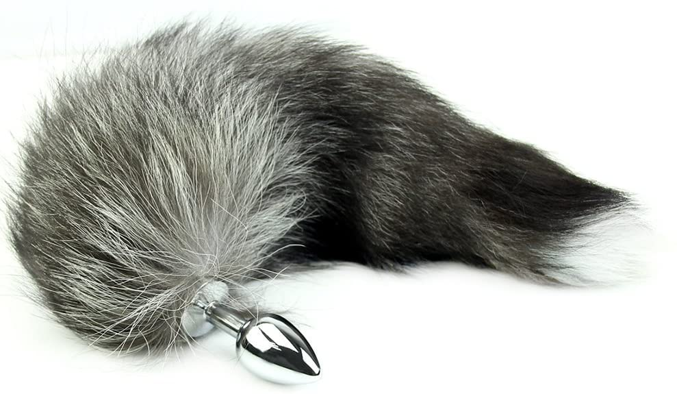 Shanhai New Love Faux Fox Tail Butt Anal Plug Sexy Romance Sex Toy Funny Adult Product
