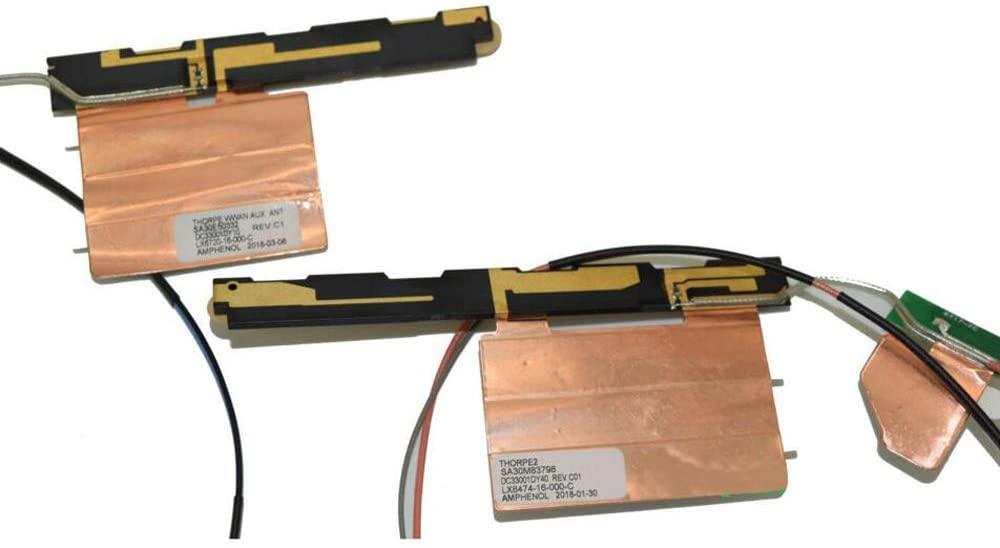 GinTai 00UR904 00UR905 Replacement for Lenovo Thinkpad T460S T470S 4G Antenna WWAN + WLAN Kit