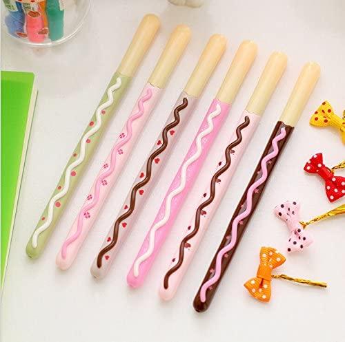 Biscuit Stick Kawaii Cookie Gel Pen School Supplies Stationery Writing Student