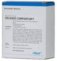 Heel BHI, Solidago Compositum P, Homeopathic Medicine, 10 Oral Vials of 2.2 ml Each