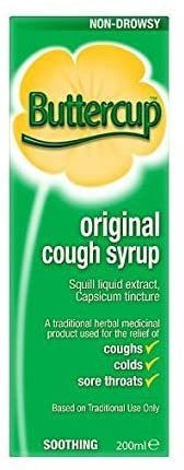 Buttercup Cough Mixture Syrup Original 200 Ml by buttercup