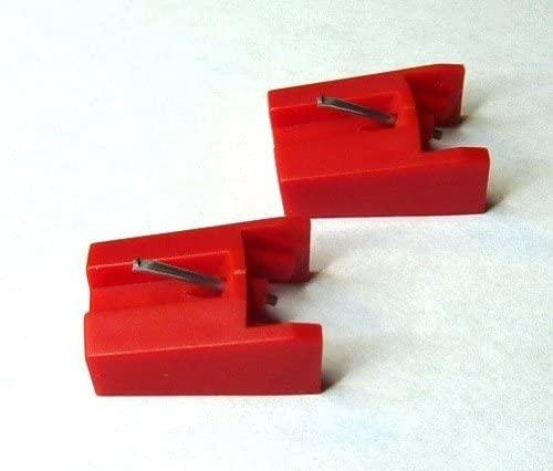 Pfanstiehl Diamond Needle Stylus for ION ICT04RS Cartridge, Pack of 2