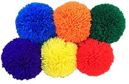 6-Pack Soft Fleece Balls: Large 5