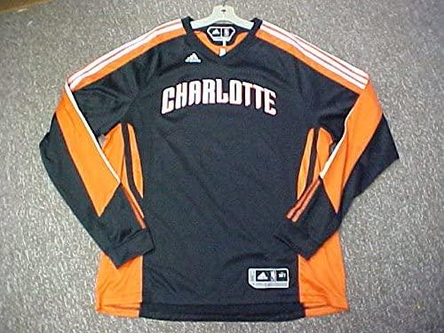 Tyrus Thomas Charlotte Bobcats 2010-11 Game Worn Home Shooting Shirt