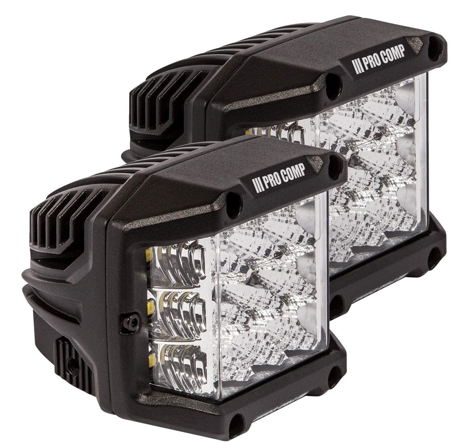 Pro Comp Suspension 76411P Wide Angle Cube LED Light