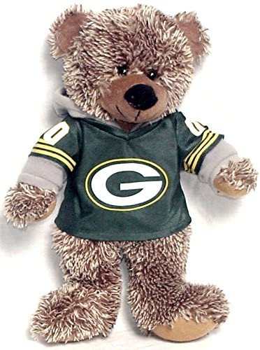 NFL Green Bay Packers Sweater Bear, One Size, Brown