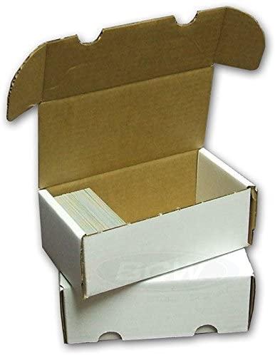 2 BCW 400 Card Storage Boxes