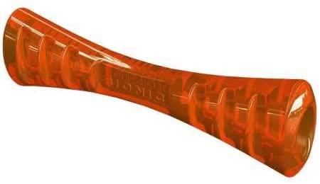Bionic Urban Stick Durable Dog Toy Chew Toy Treat Toy, Orange