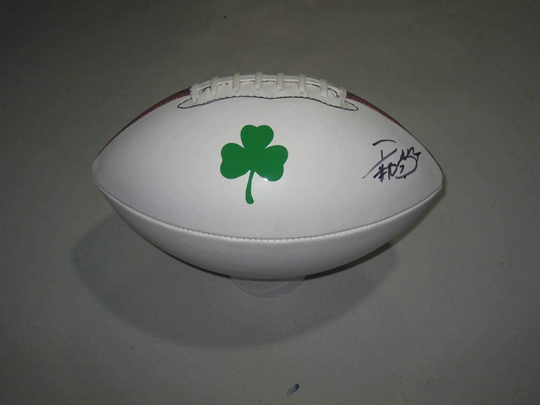 Davaris Daniels Signed Notre Dame WR Fighting Irish Logo Football Make An Offer - Autographed College Footballs
