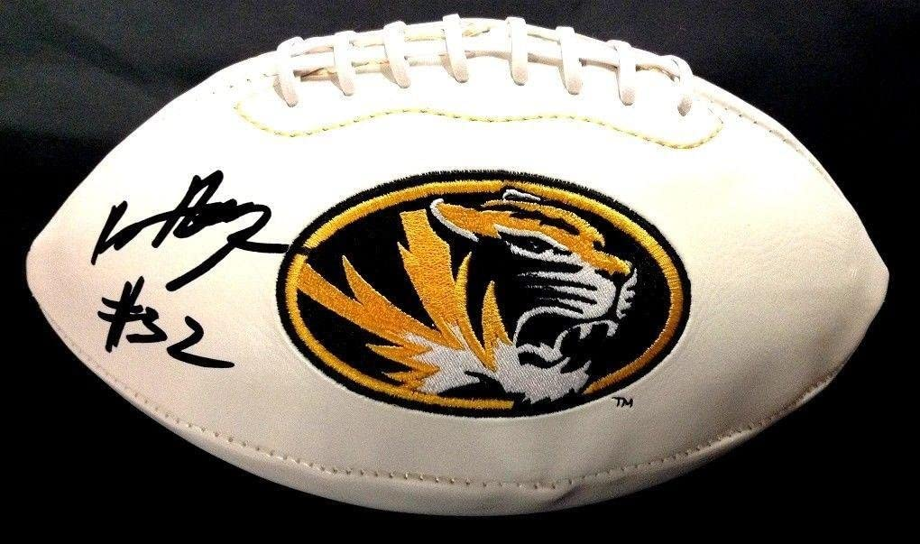 Russell Hansborough Signed Missouri Tigers Logo Football Coa