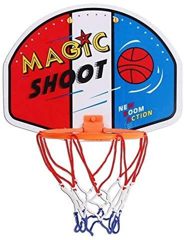 XSLY Creative Cartoon Indoor Sports Hardcore Basketball Box Baby Rack Outdoor Children's Basketball Stand Plastic Toy - 3728cm
