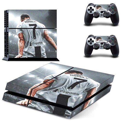 Famous football - PS4 Skin Console and 2 Controller, Vinyl Decal Sticker Full Cover Protective by Mr Wonderful Skin