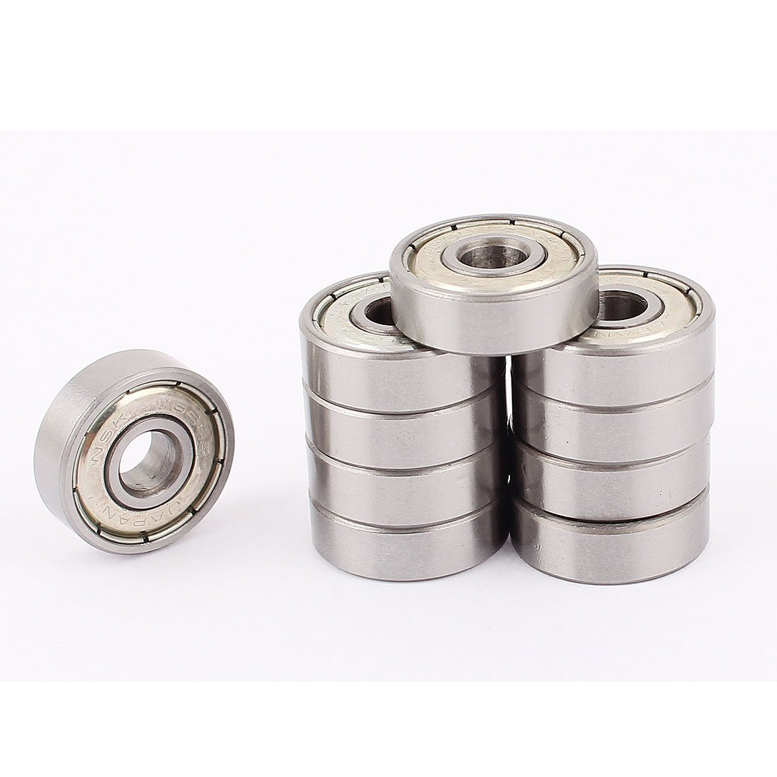 Uxcell a15060900ux0999 10Pcs 6mm x 19mm x 6mm 626Z Mini Deep Groove Ball Bearing (Pack of 10)