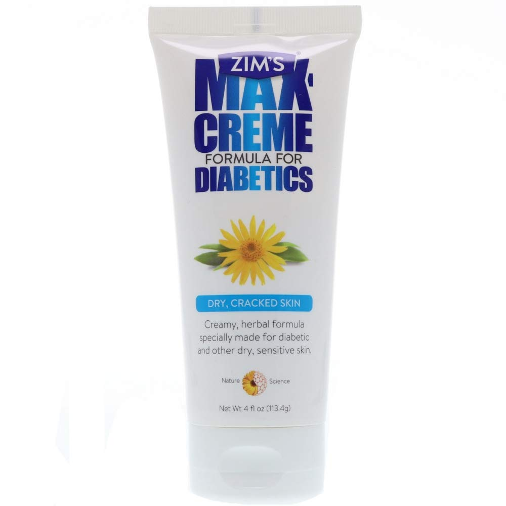 Zims Max Creme Formula for Diabetics 4 oz (Pack of 6)