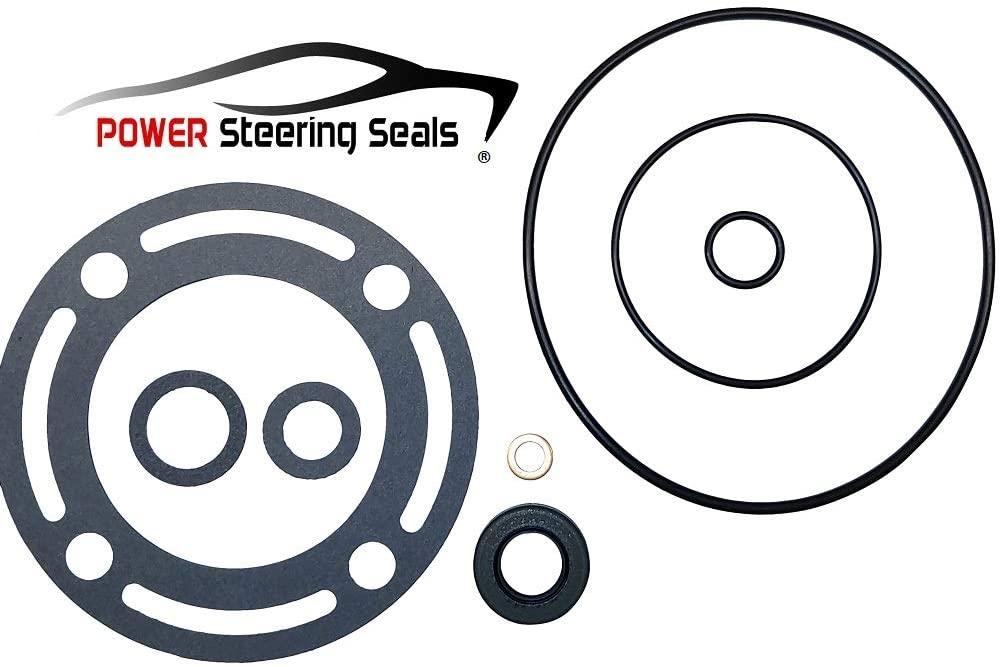 Power Steering Seals - Power Steering Pump Seal Kit for Ford Bronco, Country Sedan, Country Squire, E-100, Elite, F-100, Fairlane, Falcon, Granada, LTD, Maverick, Mustang, Ranch Wagon, Ranchero