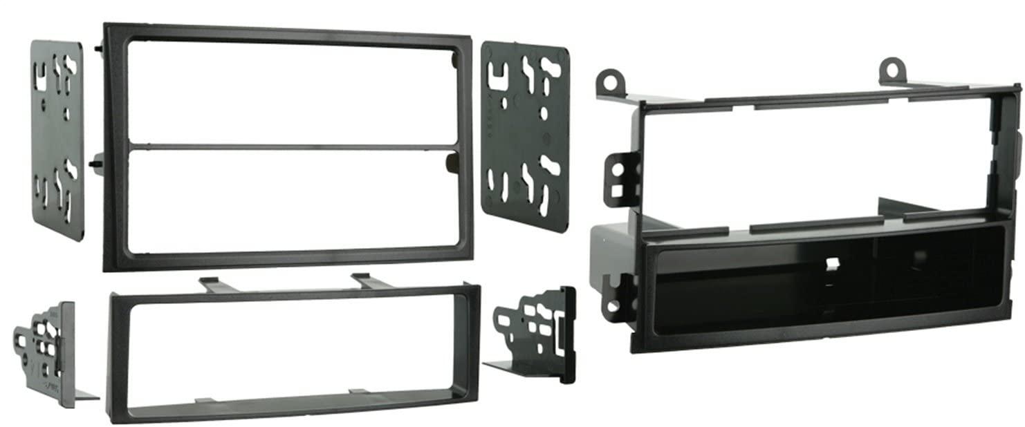 Metra 99-7402 Single DIN or Double DIN Installation Kit for 2003-2005 Nissan 350Z -Black