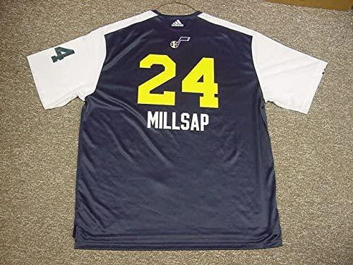 Paul Millsap Utah Jazz 2010-2011 Adidas Game Worn Shoot