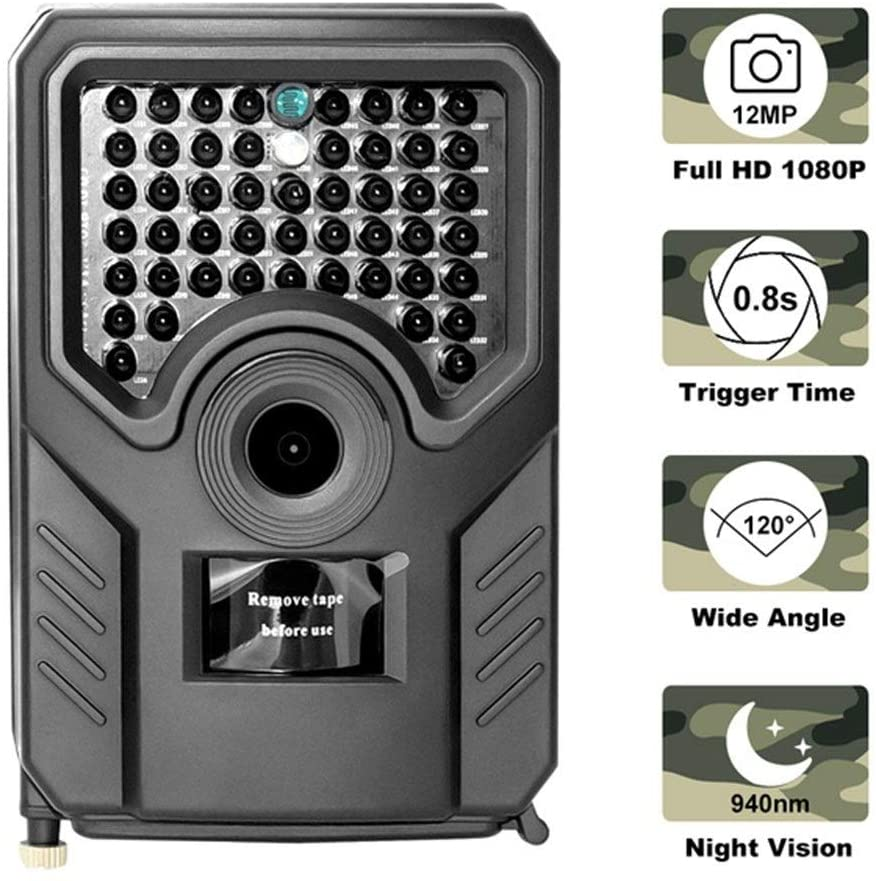XIWAN Outdoor Invisible Infrared Hunting Camera Waterproof IP56 1080P Trail Camera Photo-Trap for Hunting 940NM Animal Camera