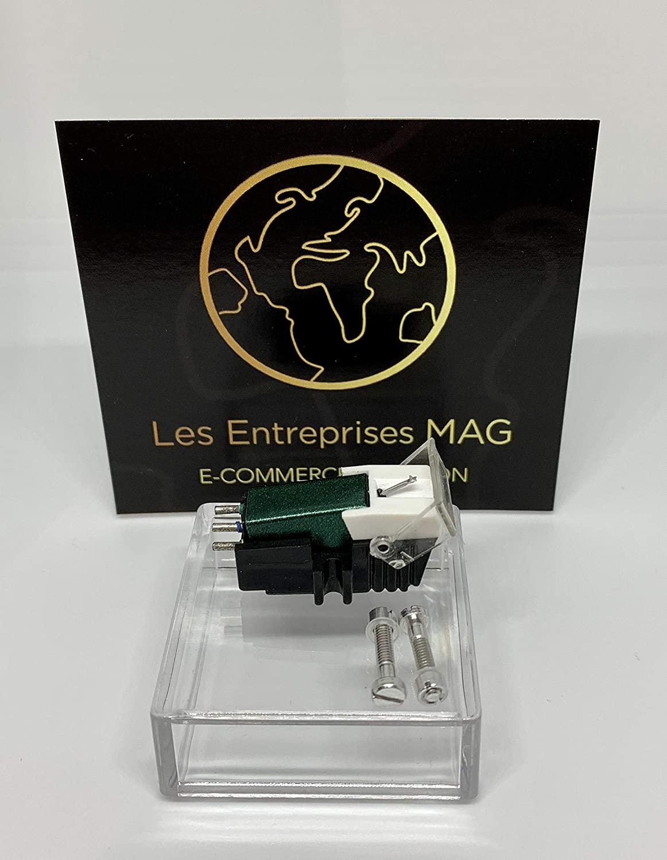 Cartridge + Diamond stylus for Gemini Q1300, PT2000, XL1800Q Forest Green