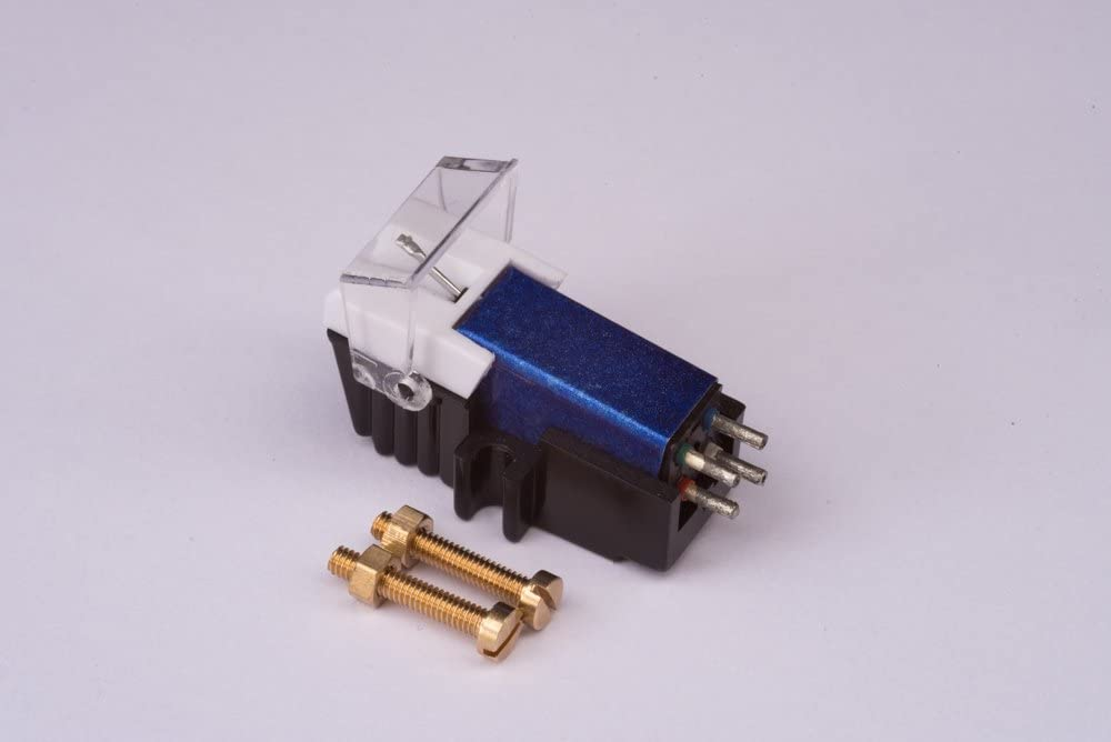 Cartridge and Stylus, needle with mounting bolts for LENCO L450, L80, L81, L81 usb, L3807