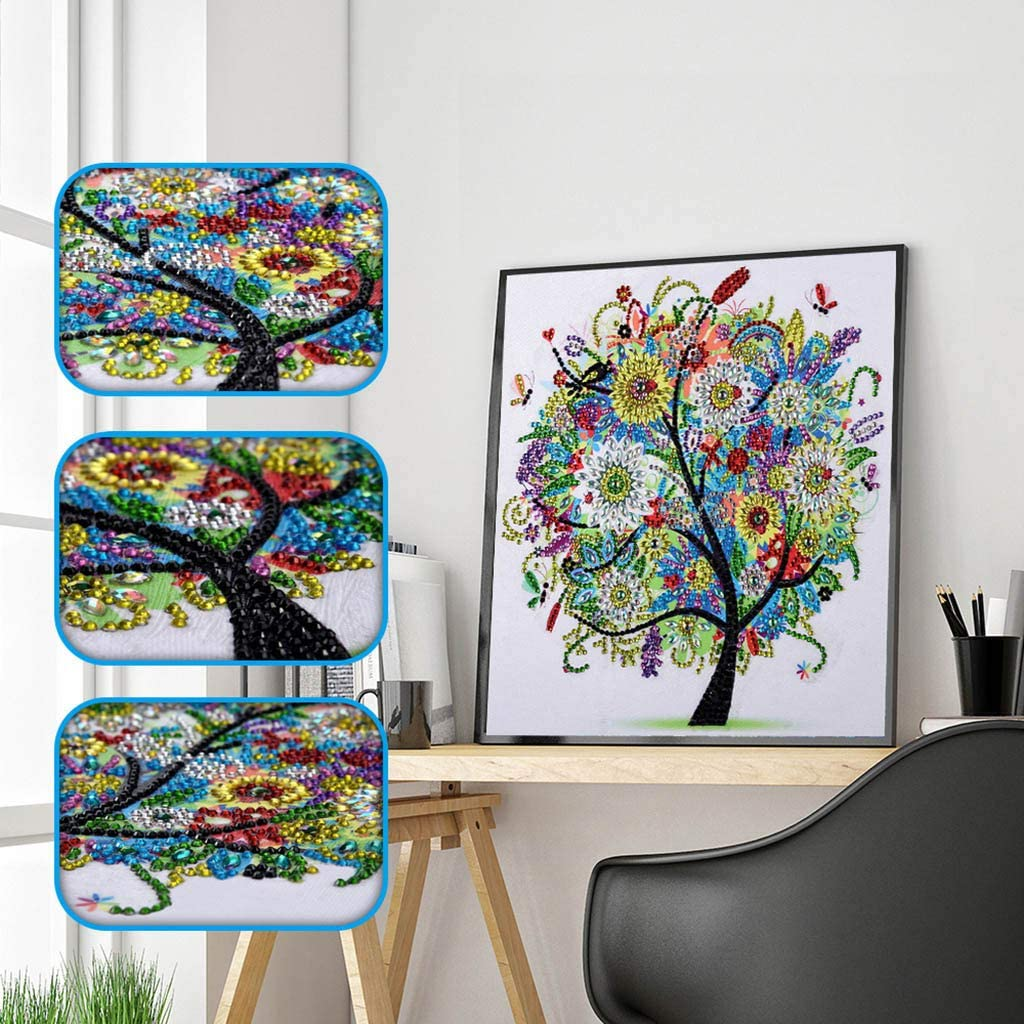 ASHLEY PETER Shop DIY 5D Embroidery Paintings Rhinestone Pasted Diamond Painting Cross Stitch Full Diamond Home Decoration Bedroom Decoration