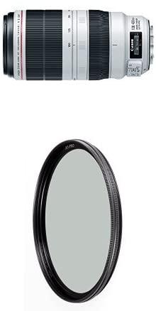 Canon EF 100-400mm f/4.5-5.6L IS II USM Lens w/ B+W 77mm XS-Pro HTC Kaesemann Circular Polarizer