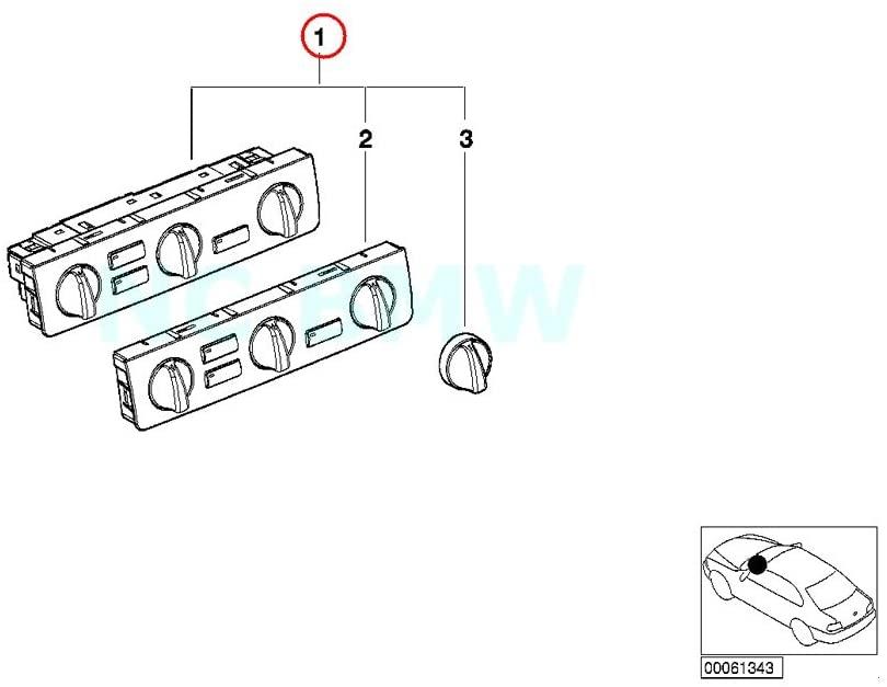 BMW Genuine Air Conditioning Control