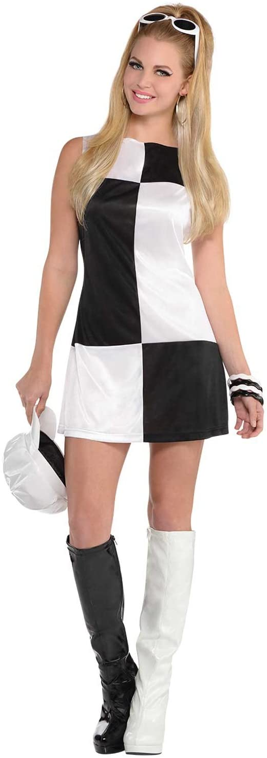 Costumes USA Mod Girl 60s Adult Costume Small