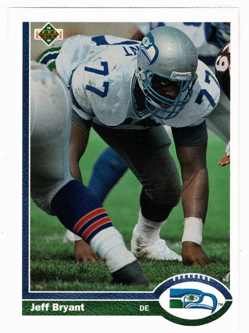 Jeff Bryant - Seattle Seahawks (Football Card) 1991 Upper Deck # 338 Mint