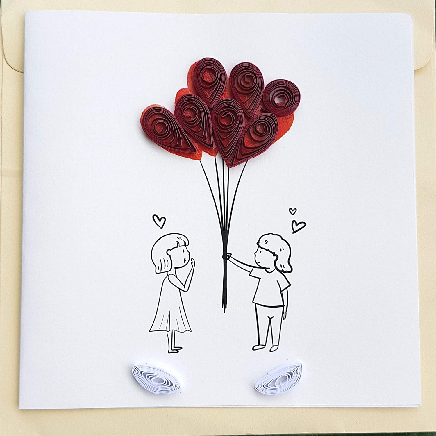 Love Card for her/him - Valentines Anniversary Birthday Gifts Greeting cards 6