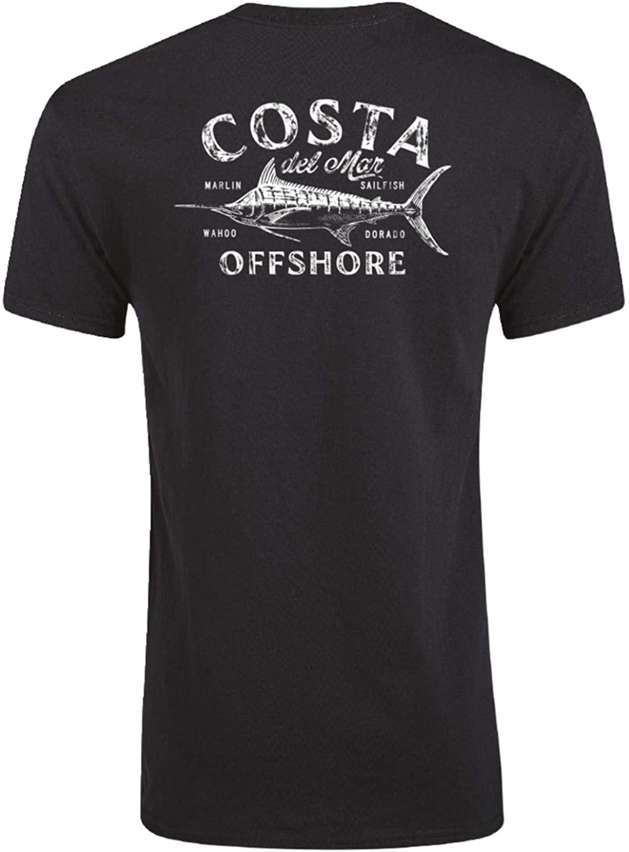 Costa Del Mar Men's Big Game Ss T Shirt - Black - M