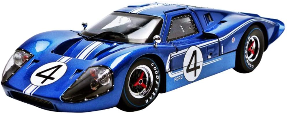 Ford 1967 GT MK IV #4 Blue Lemans 24 Hours L.Ruby / D.Hulme 1/18 by Shelby Collectibles SC426