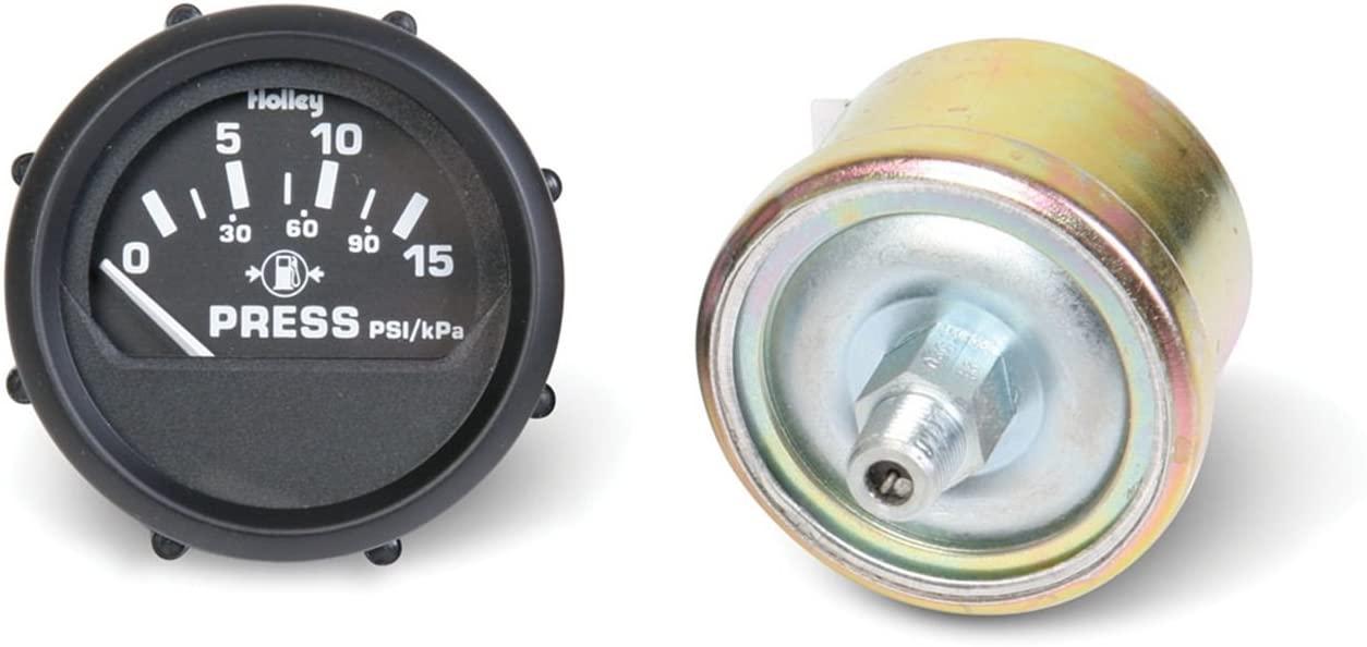 Holley Elec Fuel Pressure Gauge