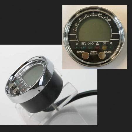 Motorize - Multifunctional Digital Instrument in Chrome