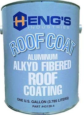 Heng's 16-43128-4 Roof Coating Alkyd Alum Gal