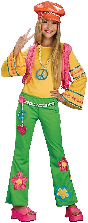 Tween Flower Power Costume