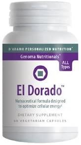 El Dorado 60 VegiCaps by D'Adamo Personalized Nutrition